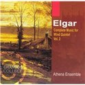 Elgar: Complete Music for Wind Quintet Vol 2 / Athena Ensemble