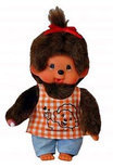 Monchhichi Girl Orange Shirt