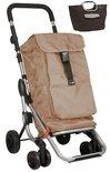 Playmarket Klein huishoudelijke accessoires Go Up camel boodschappentrolley met gratis boodschappentas t.w.v. € 12,95