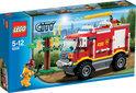 Схемы и инструкции LEGO City - Fire Truck (Пожарный внедорожник) - Lego City 7236.