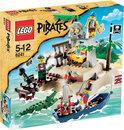 LEGO Pirates Buit Op Het Eiland - 6241