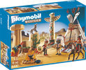 Playmobil Indianendorp met Tipi en Totempaal - 5247