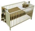 Baby ledikant gesloten - kleur Wit