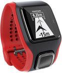 TomTom Multi-Sport Cardio zwart/rood - GPS Sporthorloge