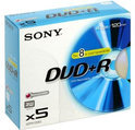 Sony Dvd+r 120 min. / 4.7 GB 5 stuks in slimcase