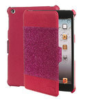 Celly GLAMme iPad Mini Book Glitter Fuchsia