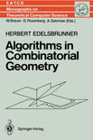 Algorithms in Combinatorial Geometry