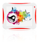 Yarvik Junior Tablet (TAB08-150) - WiFi - 8GB - Rood/Wit