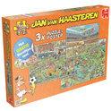 Jan van Haasteren WK Voetbal 3in1 Nederland - Puzzel - 1000 stukjes