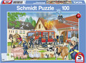 Schmidt Puzzel - Brandweer in Aktie