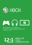 Microsoft Xbox Live Gold Abonnement 12 + 1 maanden - Xbox 360 + Xbox One