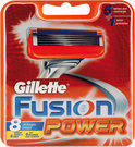 Gillette Fusion Power - 8 st - Scheermesjes