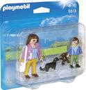 Playmobil Mama met scholier - 5513