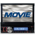 Caliber RMD571BT - Touchscreen Radio/DVD met USB/SD  zonder DVD/CD speler met Bluetooth handsfree en streaming - Zwart