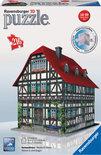 Ravensburger Huis Middeleeuws - 3D puzzel