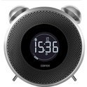 Tick Tock\Bluetooth\Retro Style Clock\LCD\FM Radio\Aux\Bluetooth\White