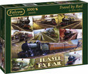 Travel by rail puzzel 1000 stukjes