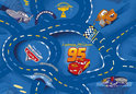 Cars Speelkleed 95X133 Blue