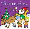 Sticker Color De Kerstman