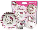 Hello kitty Porselein servies harten
