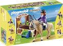 Playmobil Warmbloedpaard met paardenbox - 5520