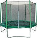 Game on Sport Trampoline Megajump Set - 183 cm - Inclusief Veiligheidsnet