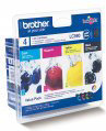 Brother LC-980 Inktcartridges - Zwart / Geel / Cyaan / Magenta