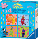 4-in-1 Puzzel - Vrolijke Teletubbies
