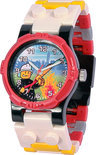 LEGO City Brandweerman Horloge