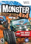 Monster 4x4: Stunt Racer + Wheel