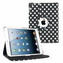 Ipad air 5 smart 360 graden hoes map zwart wit polka stippen