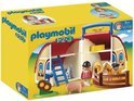 Playmobil 1.2.3. Meeneem Boerderij - 6778
