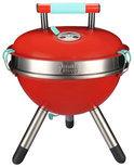 Jamie Oliver Park Houtskoolbarbecue - Ø 34.5 cm - Rood