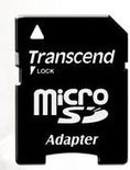 Transcend Class 10 MicroSDHC-kaart met Adapter - 16 GB