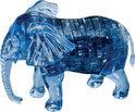 Crystal 3D Puzzel - Olifant - 10.2x6.5x7.5 cm - 40 stuks