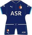 Feyenoord Minidress uit 2012/2013