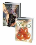 Alan Davidson - The Oxford Companion to Food and the Oxford Companion to Wine Set