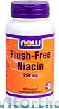Now Niacine Flush-Free - 250 mg