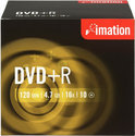 Imation DVD+R 120min/4,7Gb 10 stuks in jewelcase