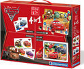Clementoni Cars 2 Edu Kit 4 in 1