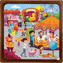 Puzzel-multi Fun Fair 3 in 1