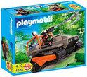 Playmobil Rupsvoertuig Met Schattenjager - 4846