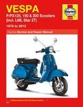 Vespa P/PX125, 150 & 200 Scooters Inc LML Star 2T Service & Repair Manual