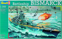 Revell Boot Bismarck - Bouwpakket - 1:350