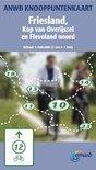 ANWB Knooppuntkaart / Friesland, kop van Overijssel en Flevoland Noord