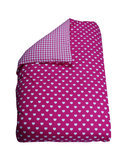 COOLS/petito - Dekbedovertrek Hart 60x80 cm - Fuchsia