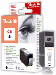 Peach C5 Inktcartridge - Zwart