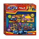 Rox 4 in 1 Speldoos - Bordspel