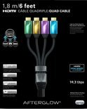 Afterglow HDMI Kabel 4X 1.80m Wii U + Xbox 360 + Xbox One + PS3 + PS4