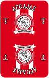 Ajax Finest - Speelkaarten - Rood